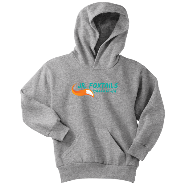 Foothill Foxy Flyers Jr Foxtails Roller Derby Youth Hoodie