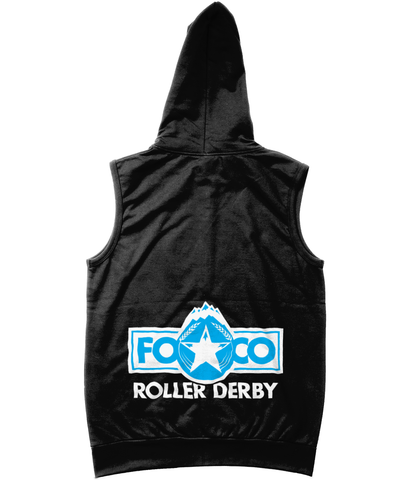 FOCO Roller Derby Sleeveless Zoodie