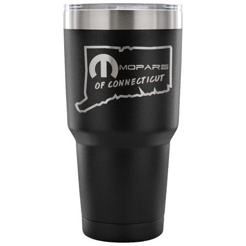 MOPARS of Connecticut Laser Etched Vacuum Tumbler