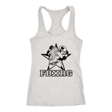 Fairbanks Rollergirls FBXRG Racerback Tank