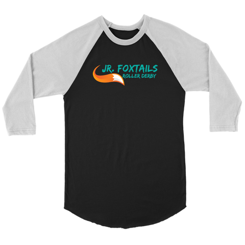 Foothill Foxy Flyers Jr Foxtails Roller Derby Raglan
