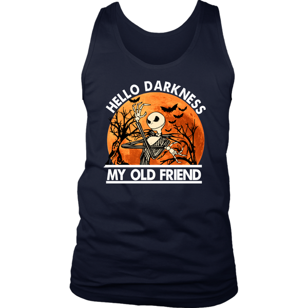 Hello Darkness Mens Tank