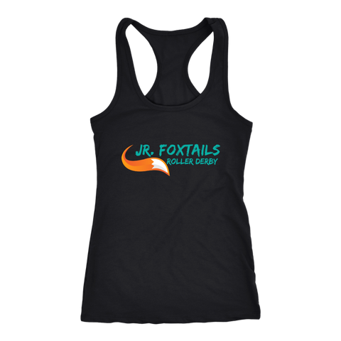 Foothill Foxy Flyers Jr Foxtails Roller Derby Racerback