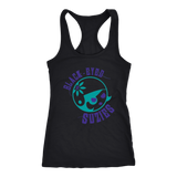 Black Eyed Suzies Free State Roller Derby Racerback Tank