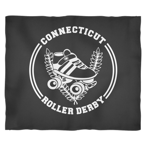 Connecticut Roller Derby Fleece Blanket