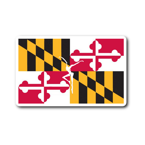 DMB Maryland Flag Firedancer Sticker