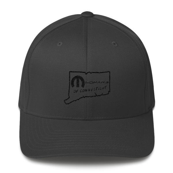 MOPARS of Connecticut Flex Fit Structured Twill Cap