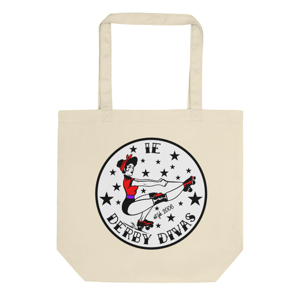 IE Derby Divas Eco Tote Bag