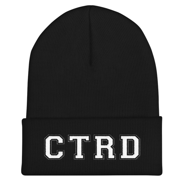 Connecticut Roller Derby Cuffed Beanie