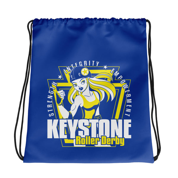 Keystone Roller Derby Drawstring bag