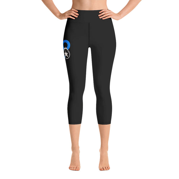 FOCO Roller Derby Women's Yoga Capri Leggings