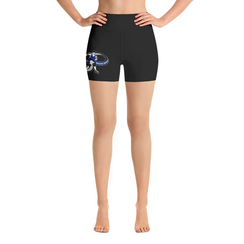 Infinity Roller Derby Yoga Shorts