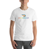 Doordash Pride Mens Short-Sleeve Unisex T-Shirt