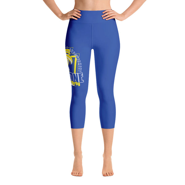 Keystone Roller Derby Yoga Capri Leggings