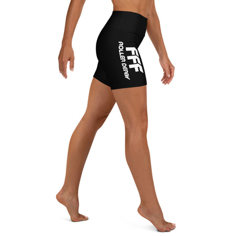 Foothill Foxy Flyers Yoga Shorts