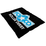 FOCO Roller Derby Fleece Blanket