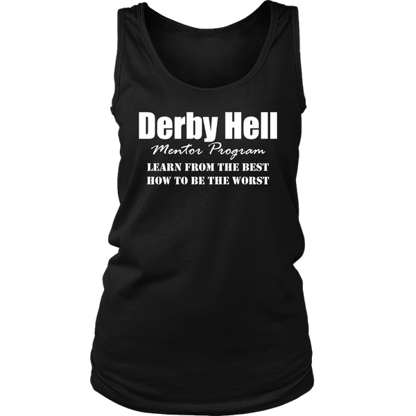 Derby Hell Mentor Womens Tank