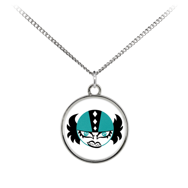 Rock Villains Free State Roller Derby Necklace