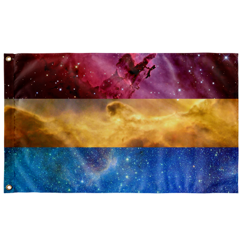 Pansexual Space flag