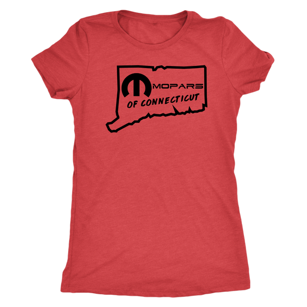 MOPARS of Connecticut Womens Triblend Tee