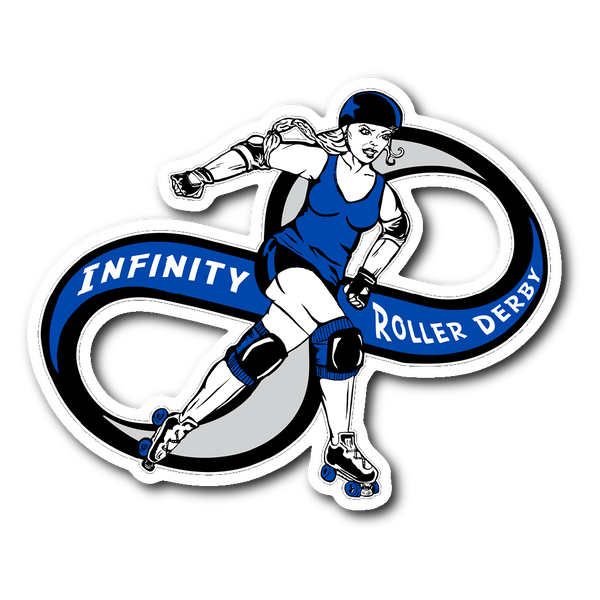 Infinity Roller Derby Sticker