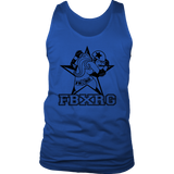 Fairbanks Rollergirls FBXRG Mens Tank