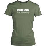 Roller Derby Fucking Hobby Womens Tee