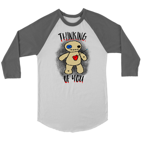 Thinking of You Voodoo Raglan