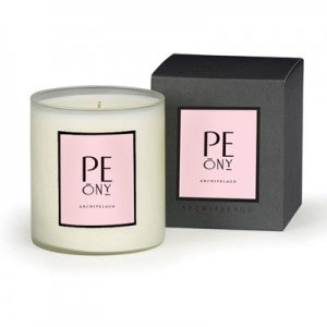 Peony Scented Candle by Archipelago