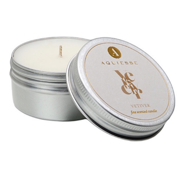 Vetiver Travel Tin Candle