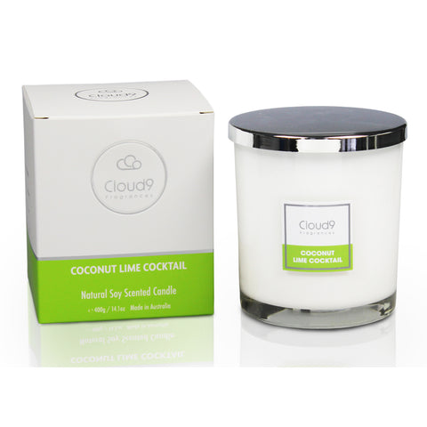Coconut Lime Cocktail Scented Candle