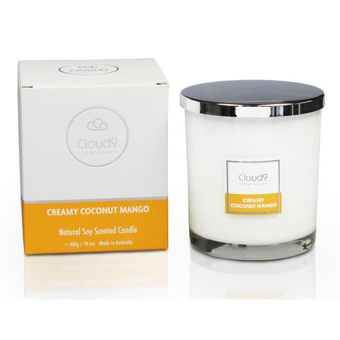 Creamy Coconut Mango Scented Candle