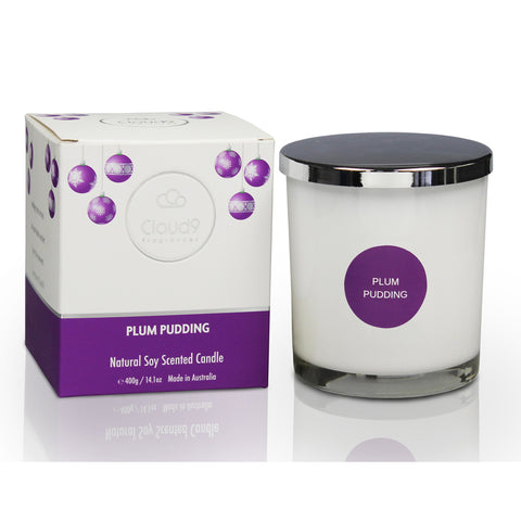 Plum Pudding Scented Candle