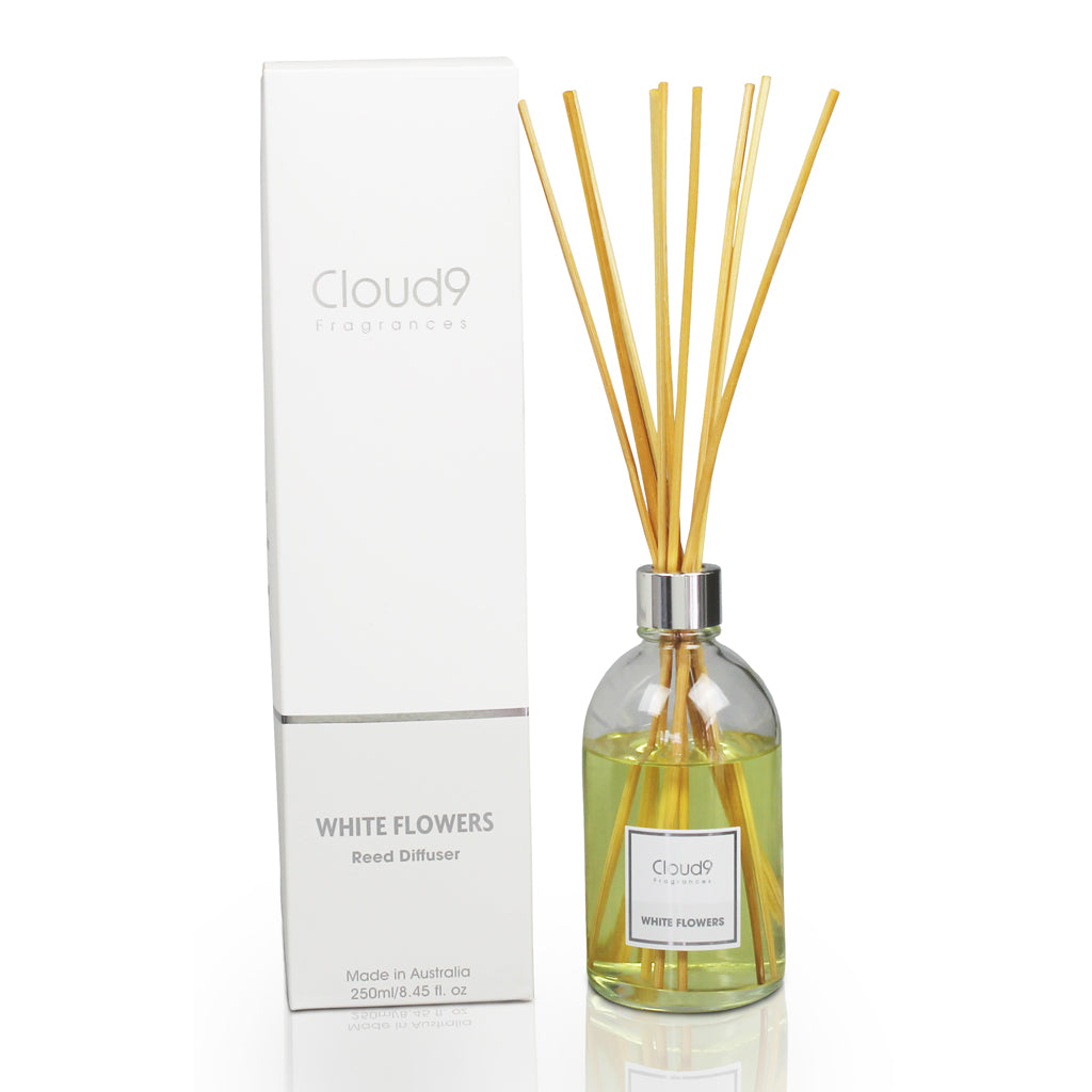 White flowers reed diffuser mightylinksfo