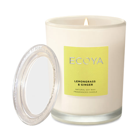Lemongrass & Ginger Scented Candle Jar
