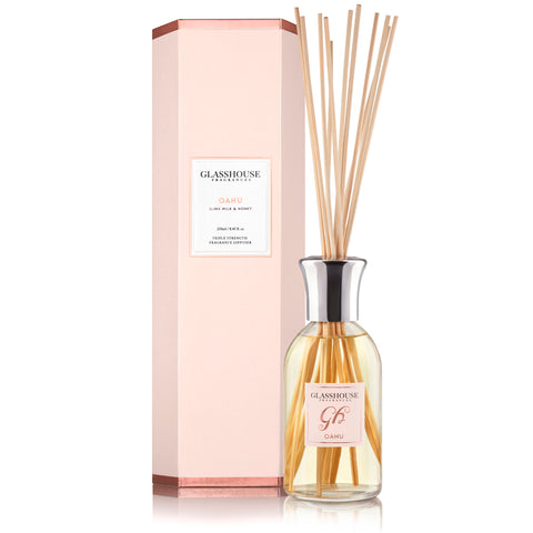 Oahu - Ilima Milk & Honey Room Diffuser
