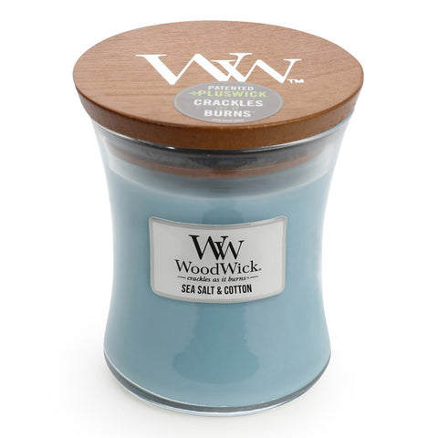 Sea Salt & Cotton Scented Candle