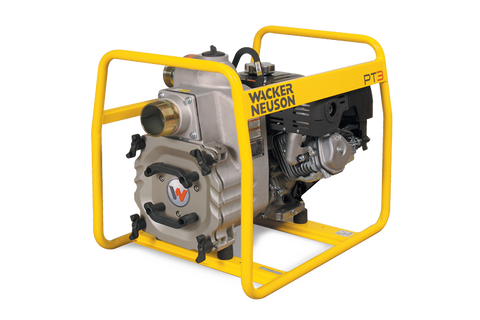 "WACKER NEUSON 3"" SELF PRIMING TRASH PUMP PT 3H PT3H DIESEL SKU# 0009100"