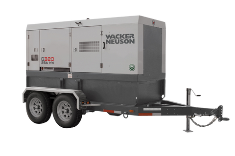 Wacker Neuson G320 Mobile Generator 256kW Cummins Tier 4F, Cold Weather Pkg. 5200010145