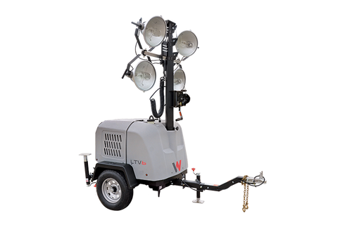 Wacker Neuson LTV6K Compact Light Tower 60HZ, 6KW Gen. Kubota, Power Winch 5100031435
