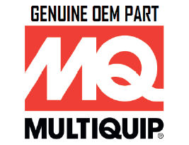 Multiquip O Ring 6D22 DCA-150SSM Part ME051375