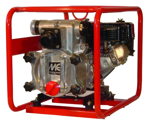 "Multiquip QP2TH 2"" Trash Pump, Gasoline 4.8HP Honda GX160, 211 GPM"
