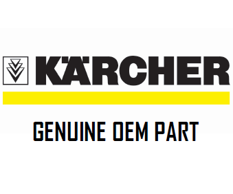Karcher YOKE WHEEL KIT SKID NEW Part 8.723-696.2 (87236962)