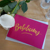 Babelicious Card hot pink