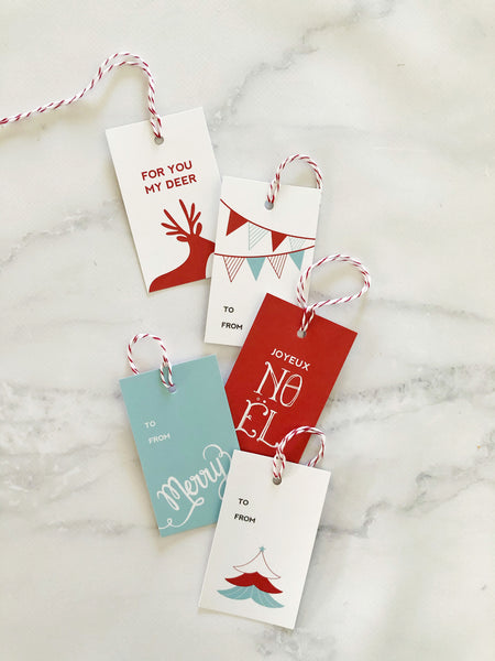 Christmas Gift tags assorted designs