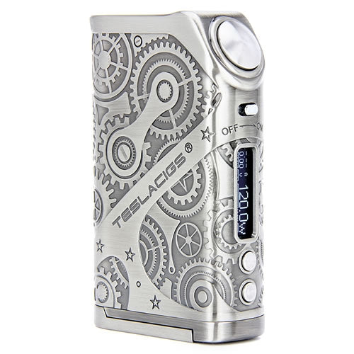 Teslacigs Steampunk Nano 120W Regulated Box Mod
