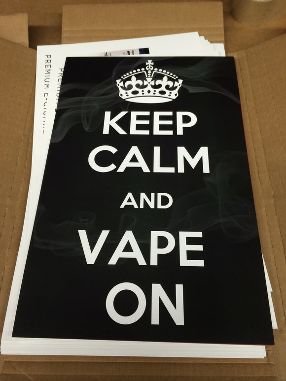 Poster - Keep Calm and Vape On