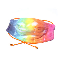 Rainbow Tie Dyed 100% Cotton Face Mask
