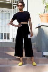 Anita Crop-Black