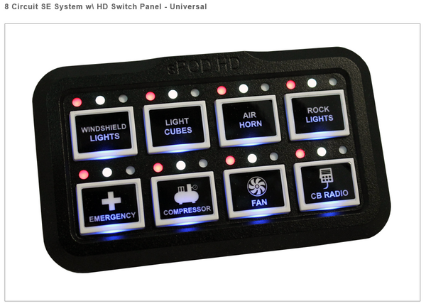 sPod HD Touch Panel for SE System